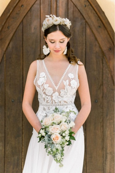 Wedding dress Oksana Kokhan Lila front