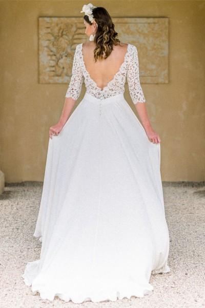 Wedding dress Oksana Kokhan Amaryllis back