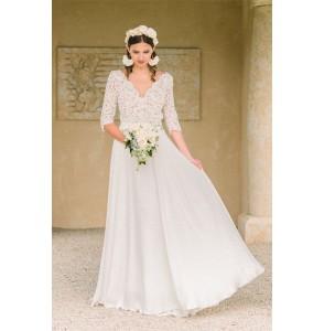 Wedding dress Oksana Kokhan Amaryllis front