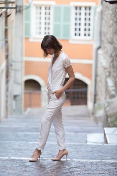 Wedding Jumpsuit Alba 24h dans la vie d'une femme side