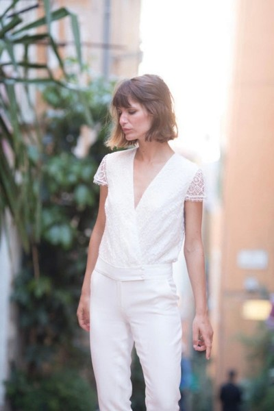 Wedding Jumpsuit Alba 24h dans la vie d'une femme front