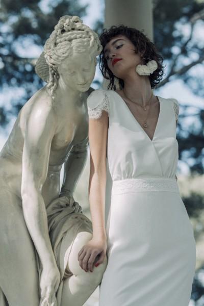 Wedding dress Laure de Sagazan Dolan front