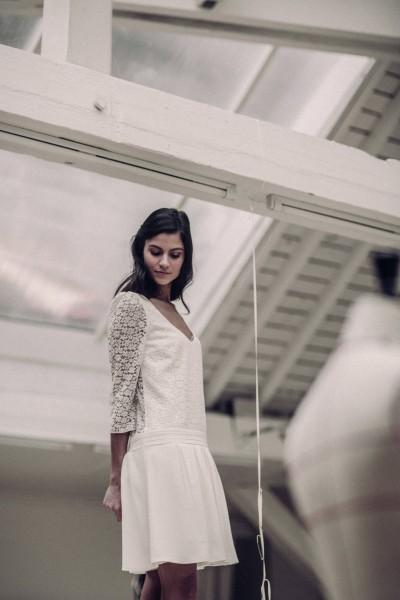 Wedding dress Laure de Sagazan Nerval front