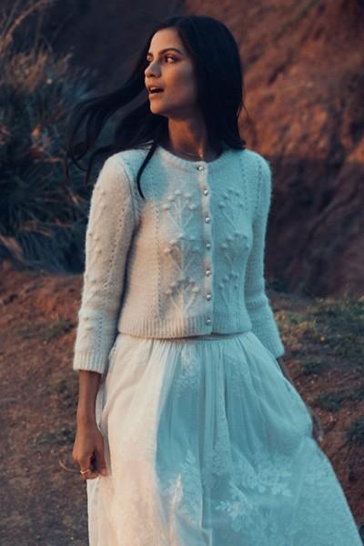 Wedding skirt Laure de Sagazan Maine