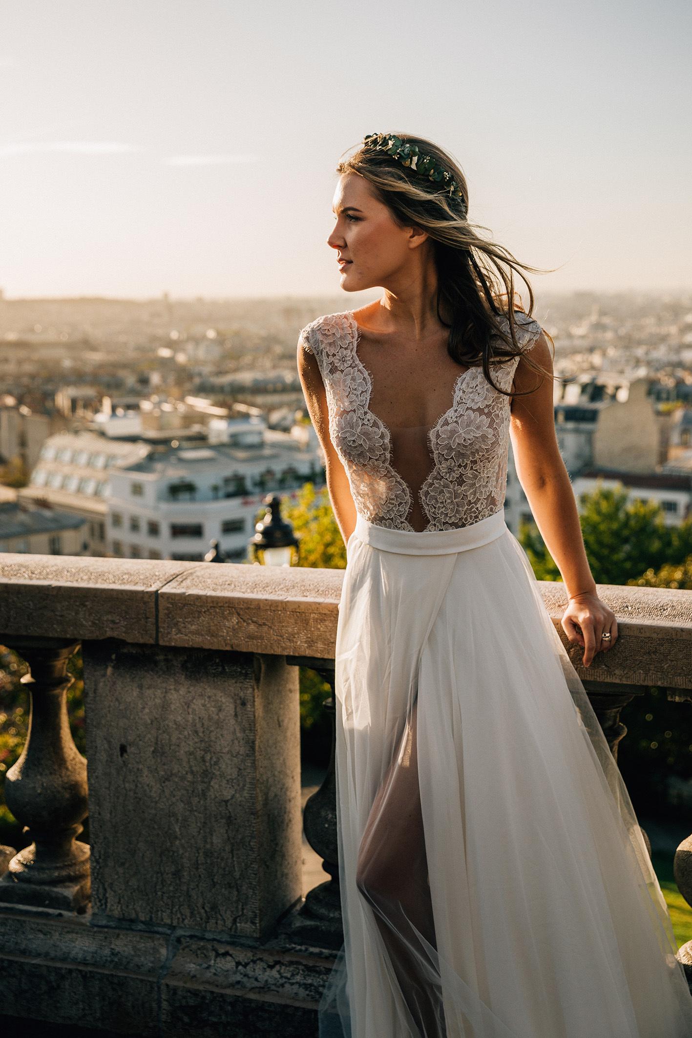 OKSANA KOKHAN WEDDING DRESS