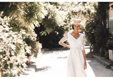 ALBA : The Dressing Club's eco-friendly wedding dress brand !